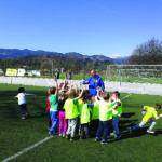 Vrtec Bled – zaključek nogometnega tečaja