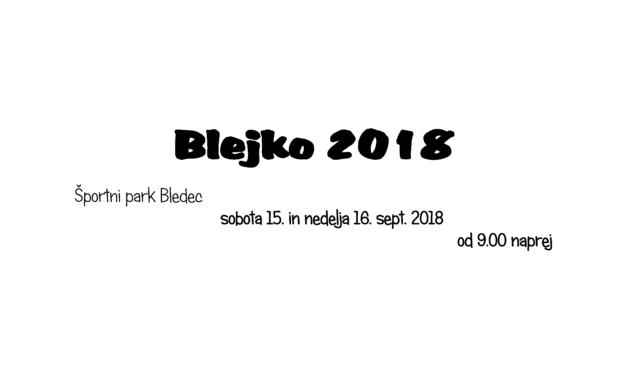 BLEJKO 2018!